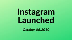 when was instagram first launched